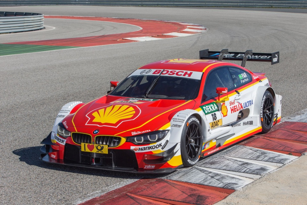Shell BMW DTM Car