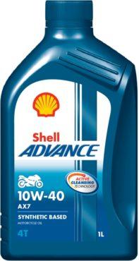 Shell Advance 4T AX7 10W-40