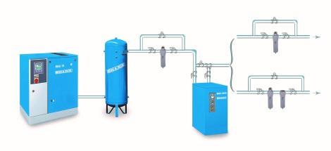 Dobór sprężarek oraz urządzeń do uzdatniania sprężonego powietrza